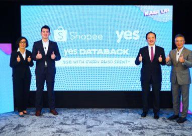YES DATABACK rewards Shopee Customers with Free Data