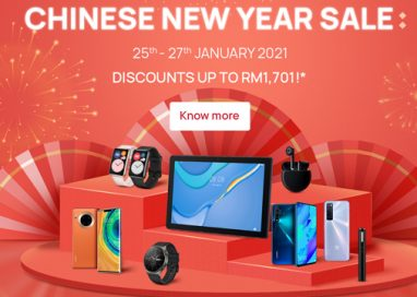 Celebrate the Year of the Ox with Amazing HUAWEI Products from as low as RM8!