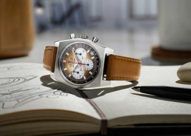 Zenith brings back the First El Primero Watch with A Gradient Dial from 1969: Chronomaster Revival A385