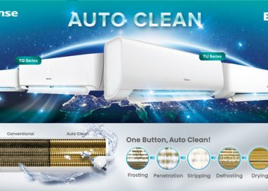 Enjoy Clean Air with Hisense's Air Conditioner by pressing one button!
