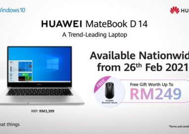 HUAWEI unveils its New and Improved HUAWEI MateBook D14 2020 Intel Edition
