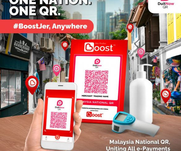 Boost joins DuitNow QR Ecosystem to Support the Regeneration of the Malaysian Economy in a Safer Contactless Way