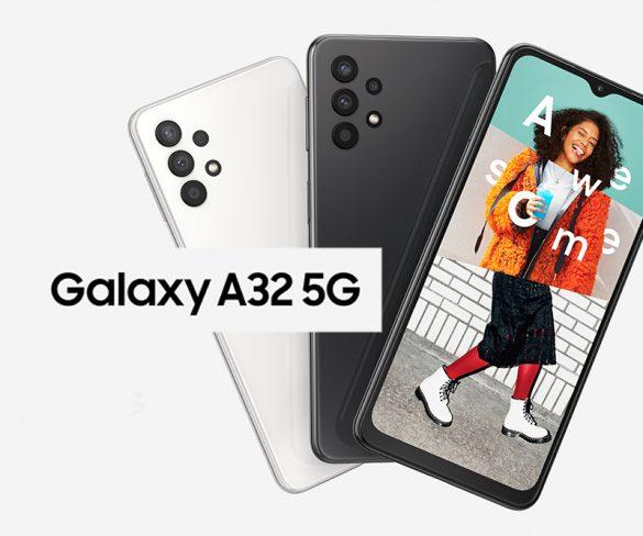 Samsung Galaxy A32 5G Part 1 – Unpack