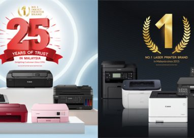 Canon celebrates Leader Position in Malaysian Printing Industry
