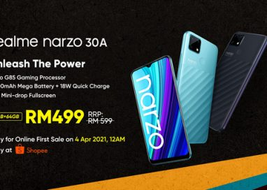 realme unveils narzo 30a and Three Gaming Accessories for Young Players in Malaysia
