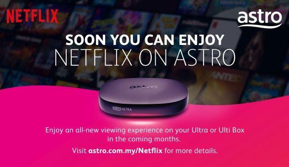 Astro and Netflix announce Strategic Partnership