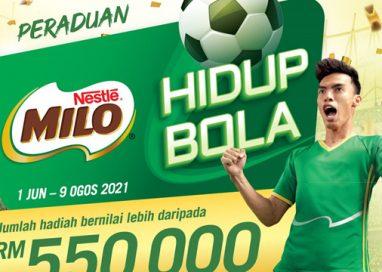 MILO Contest returns with Peraduan MILO Hidup Bola with More Rewards worth RM550,000!