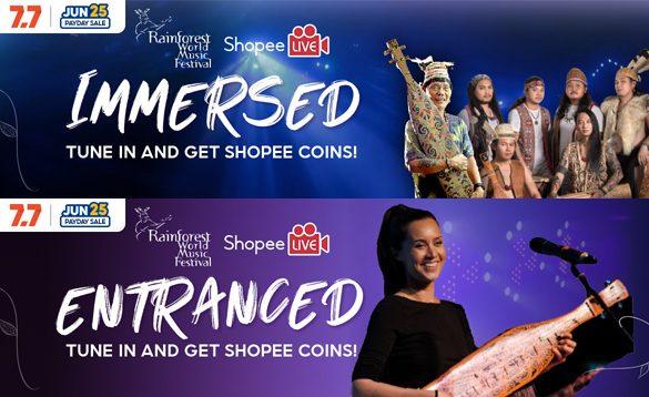 Rainforest World Music Festival 2021 goes virtual, Sarawak Tourism Board names Shopee as the Official E-Commerce Partner