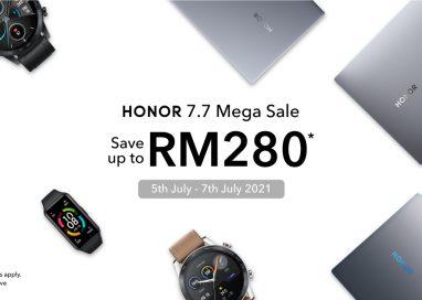 HONOR Malaysia holds 7.7 sales via Shopee!