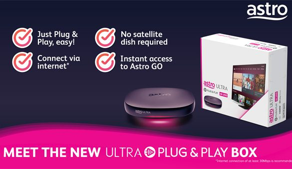 The New Ultra Plug & Play Box: Now you can watch Astro without a Satellite Dish