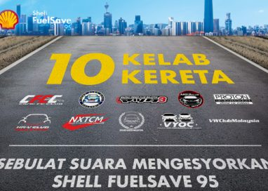 Shell FuelSave 95 recognised as the Fuel of Choice by 10 Car Clubs in Malaysia