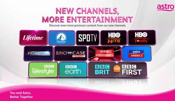 Astro refreshes Content Line Up with New Channels