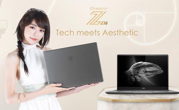 Min-Chen joins MSI as Malaysian Brand Ambassador, featuring MSI Creator Z16